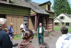 Jeff Jaqua at Zigzag Ranger Station
