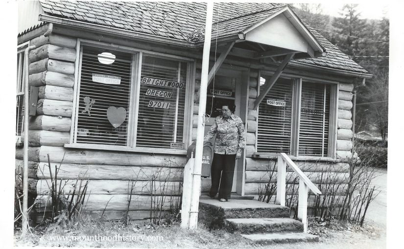The Brightwood Post Office 1979