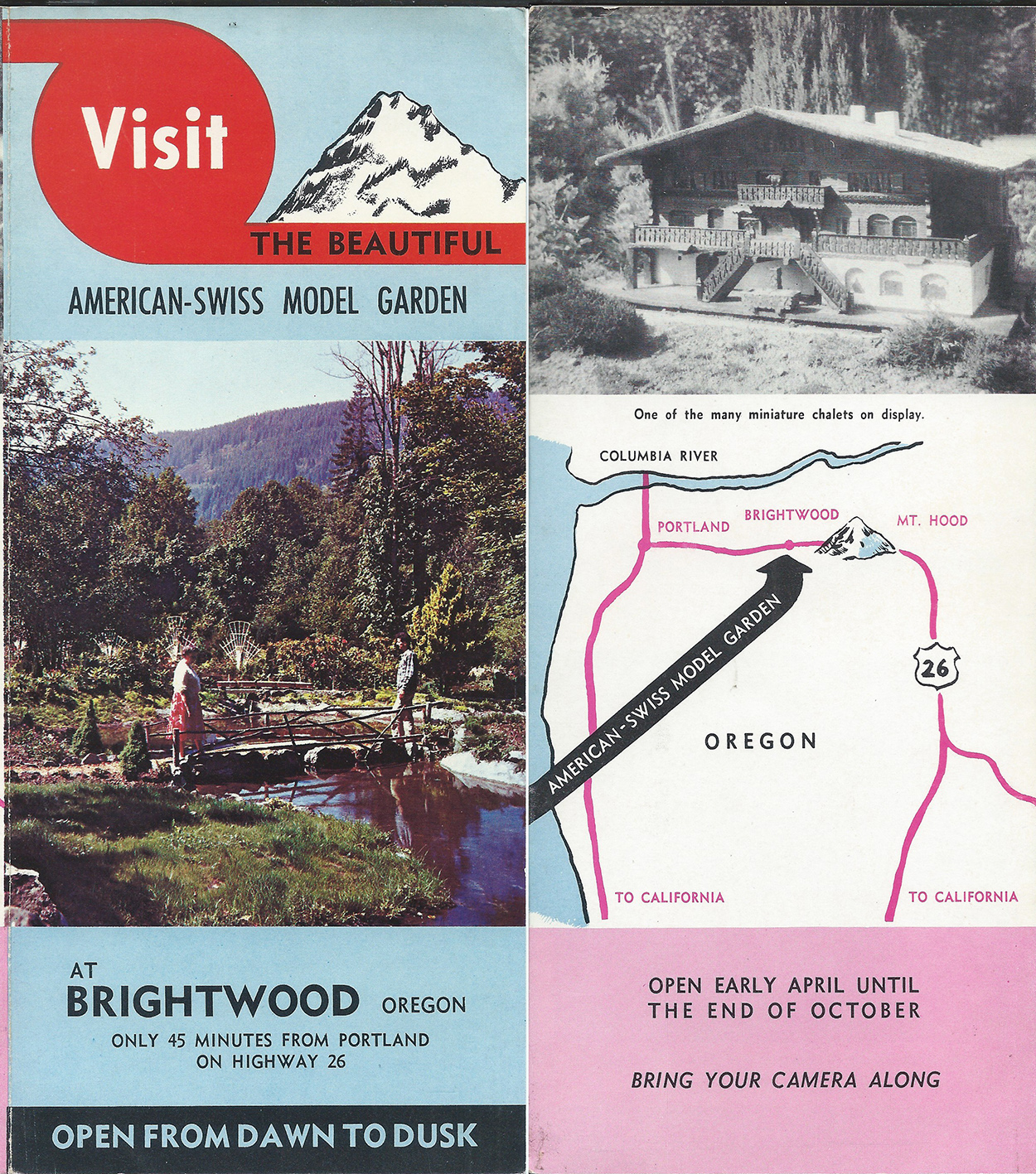 American - Swiss Model Garden Brightwood, Oregon