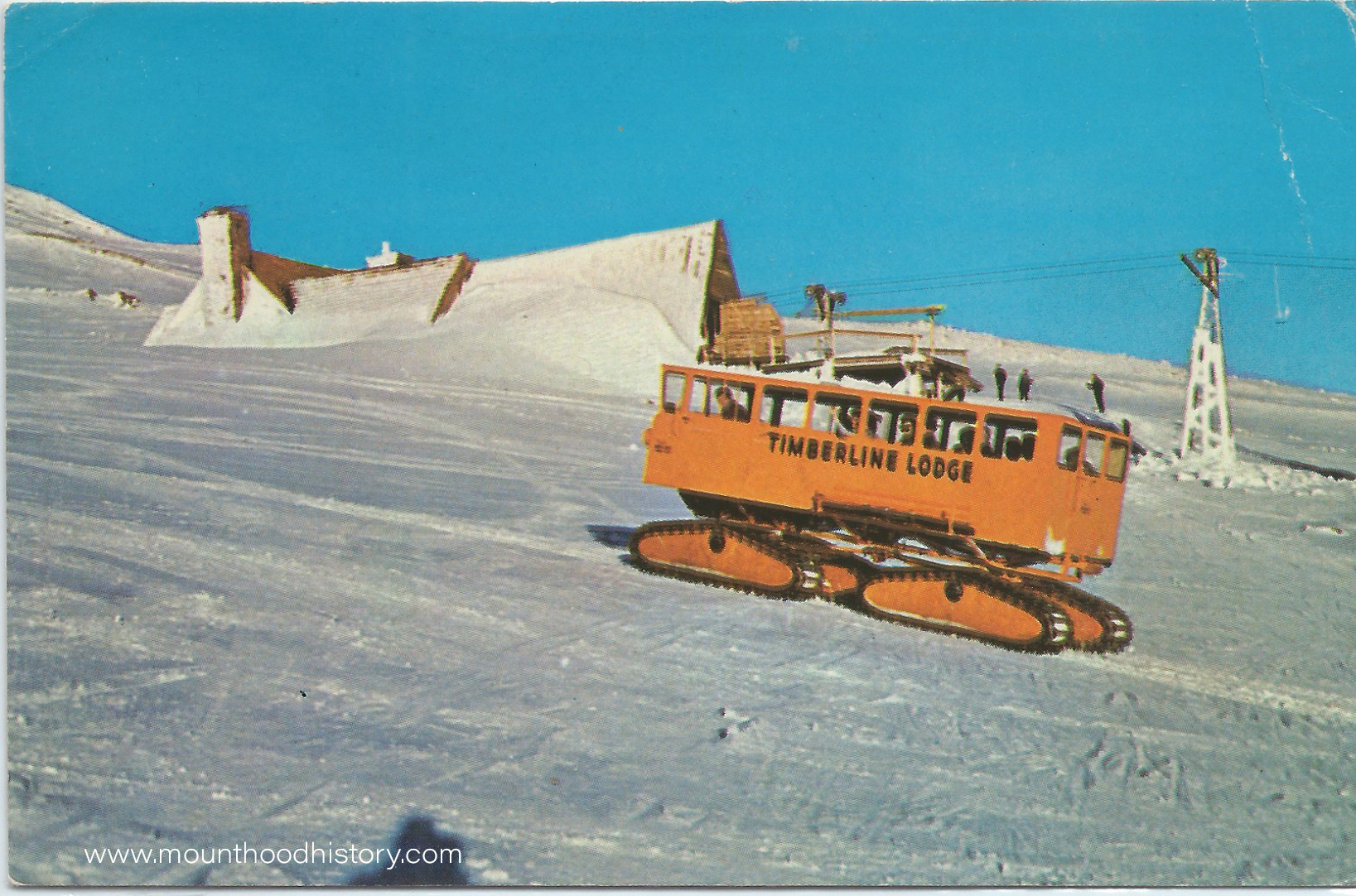 Mount Hood Timberline Lodge Snowcats