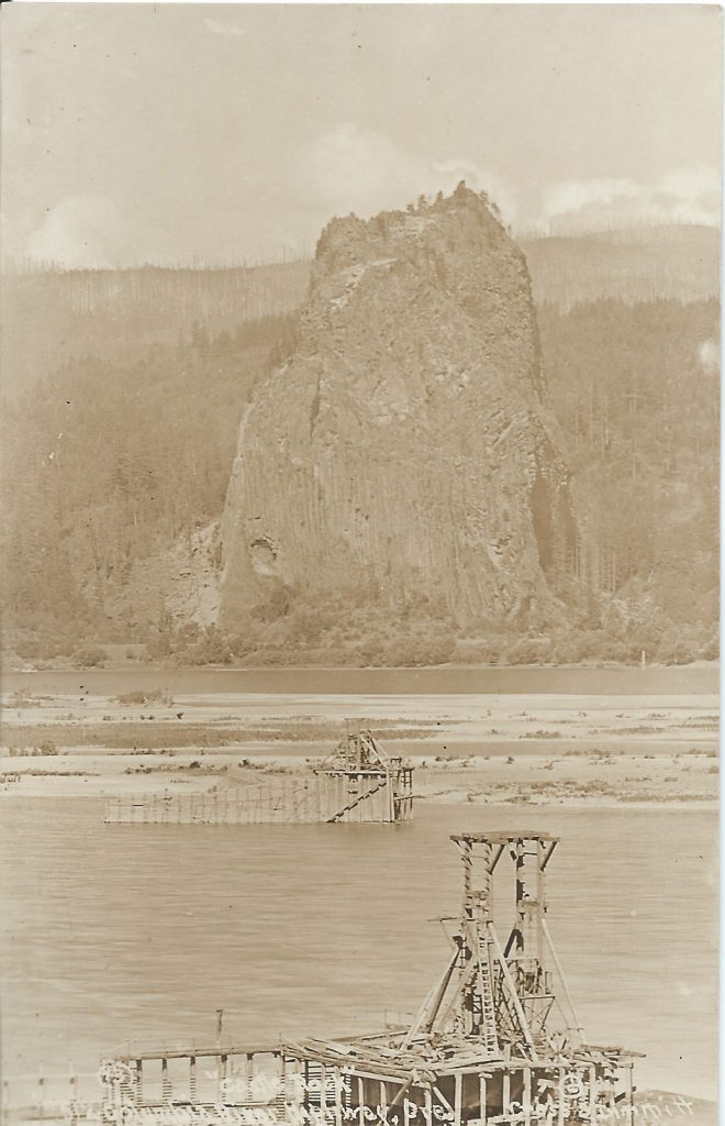 Cross and Dimmit Columbia River Highway Postcard