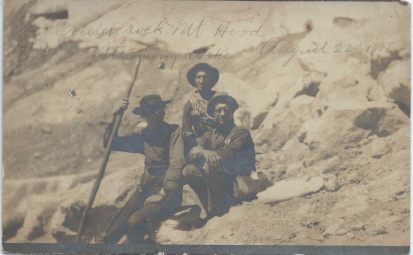 Climbing Mount Hood Back in 1906