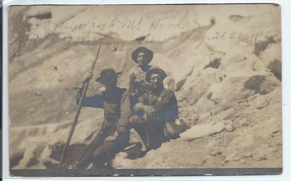 Climbing Mount Hood  1906