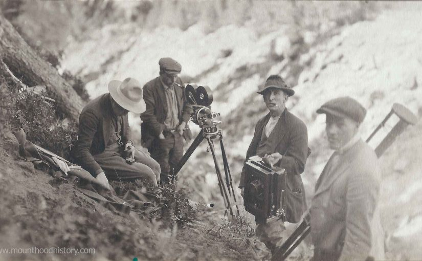 Photos of An Early Oregon Silent Movie