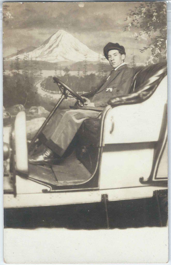 Mt Hood Automobile Photo Backdrop