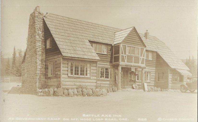 Battle Axe Inn, Government Camp, Oregon