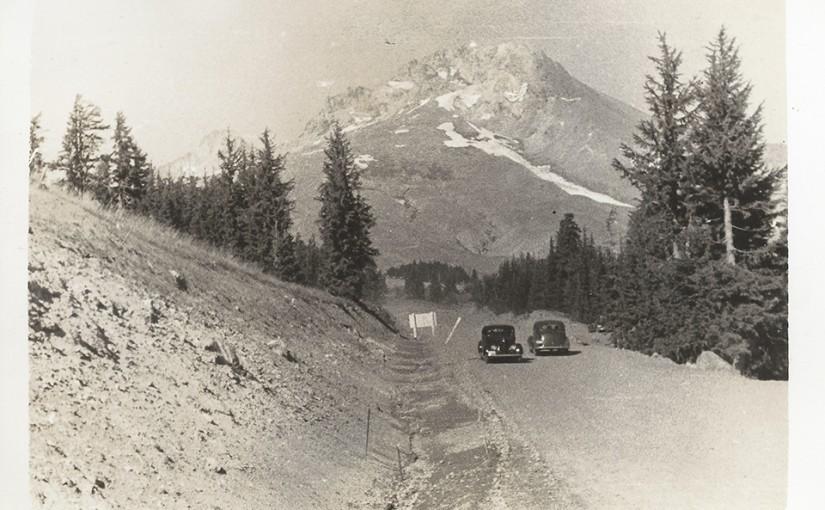 Mt Hood circa 1940