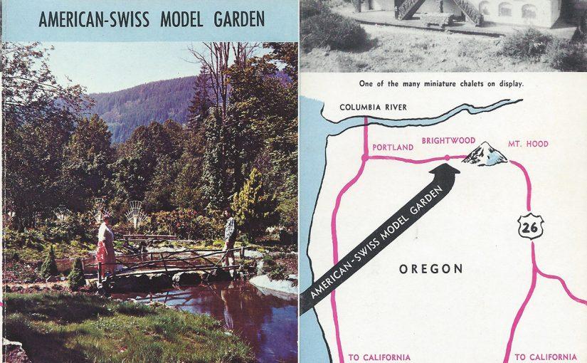 American – Swiss Model Garden at Brightwood, Oregon