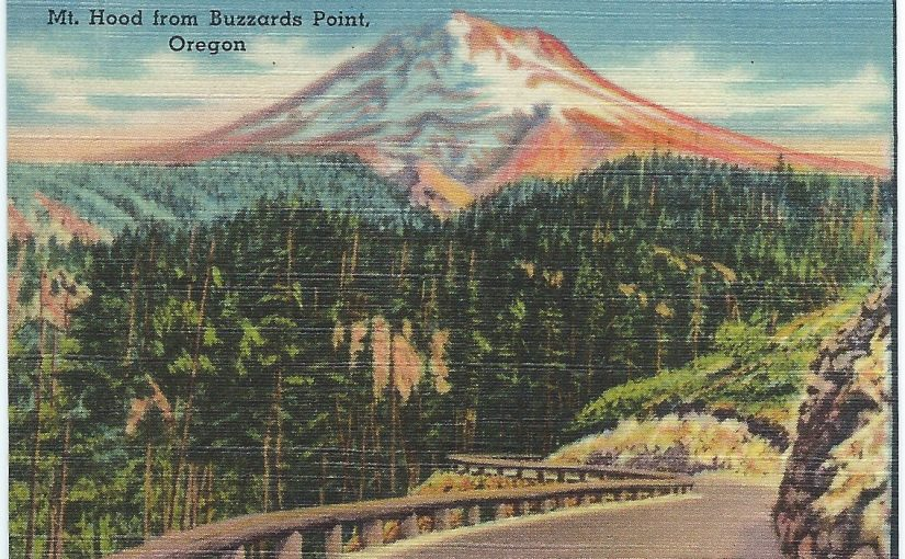 Views of Portland Oregon and the Columbia River Gorge