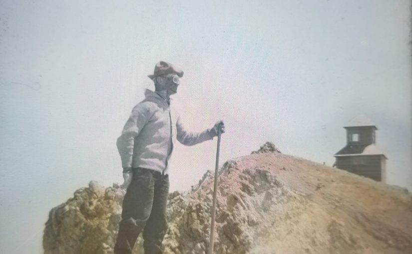 On The Summit of Mt. Hood in 1915