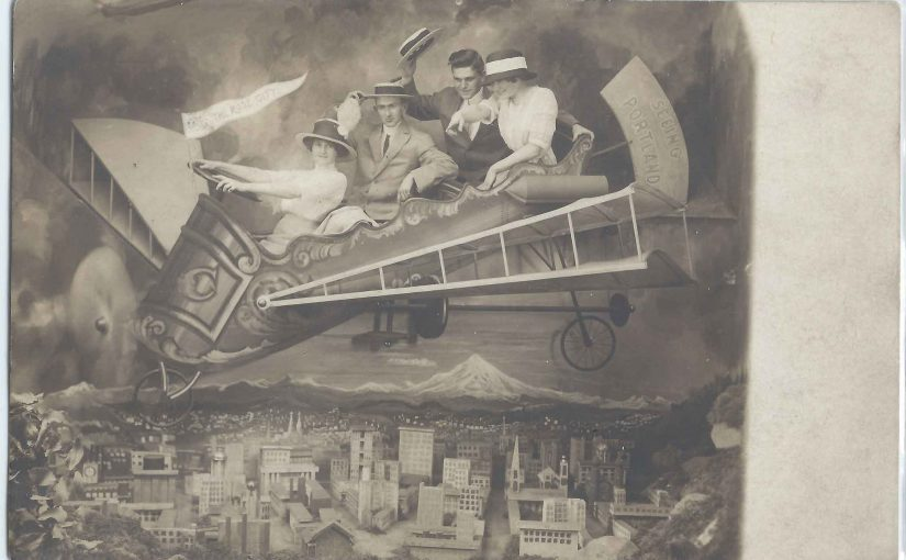 Cal Calvert and His Airplane