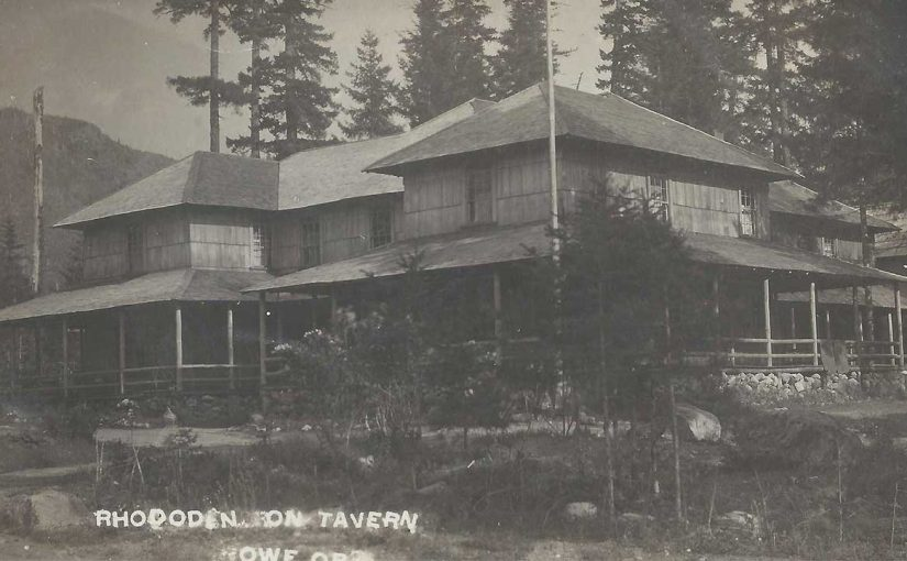 Rhododendron Oregon Centennial and History